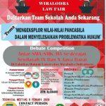 Kompetisi Debat Wiralodra (LAW FAIR)
